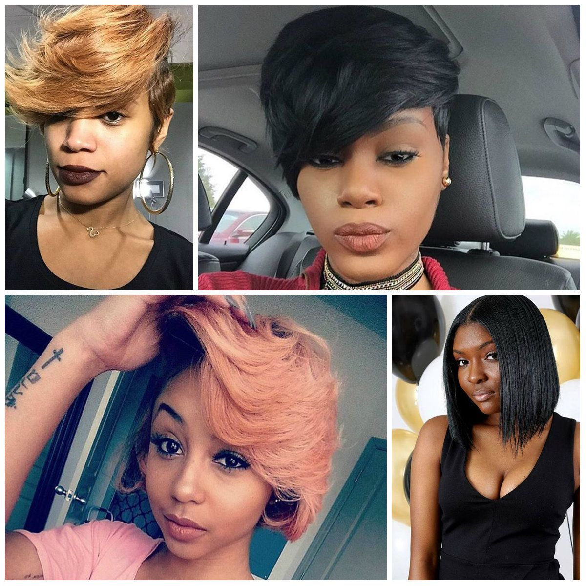 Black Women S Upscale Short Haircuts For 2017