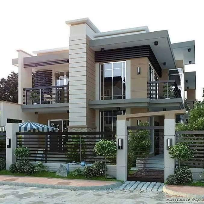 Contemporary Model Home Plans: Cebu City, Philippines
