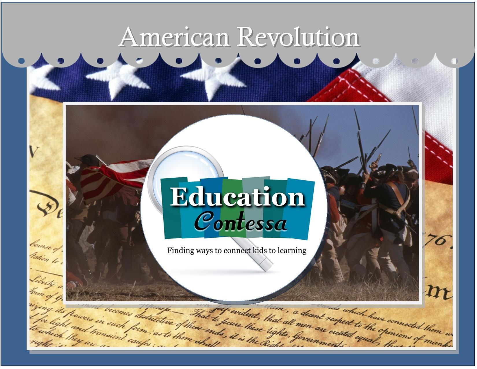 Lessons And Activities About The American Revolution Paul