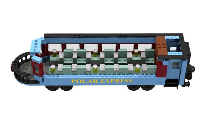 The Polar Express Polar Express Lego Christmas Train Lego Trains