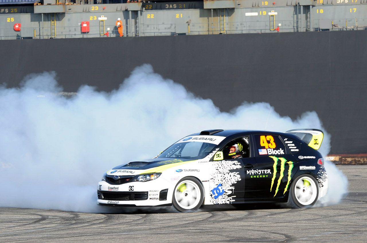 Ken Block Drift King >> Ken Block Drift King In The Subaru Wrx Sti Rally Rides