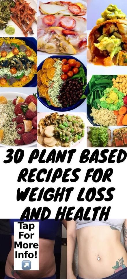 30 Plant Based Recipes For Weight Loss And Health Any