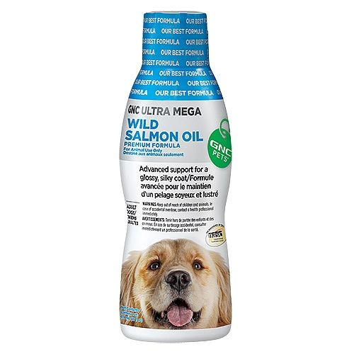 Gnc Pets Gnc Ultra Mega Wild Salmon Oil Gnc Pets 1020873 Gnc Pets Dog Shedding Dog Dental Care