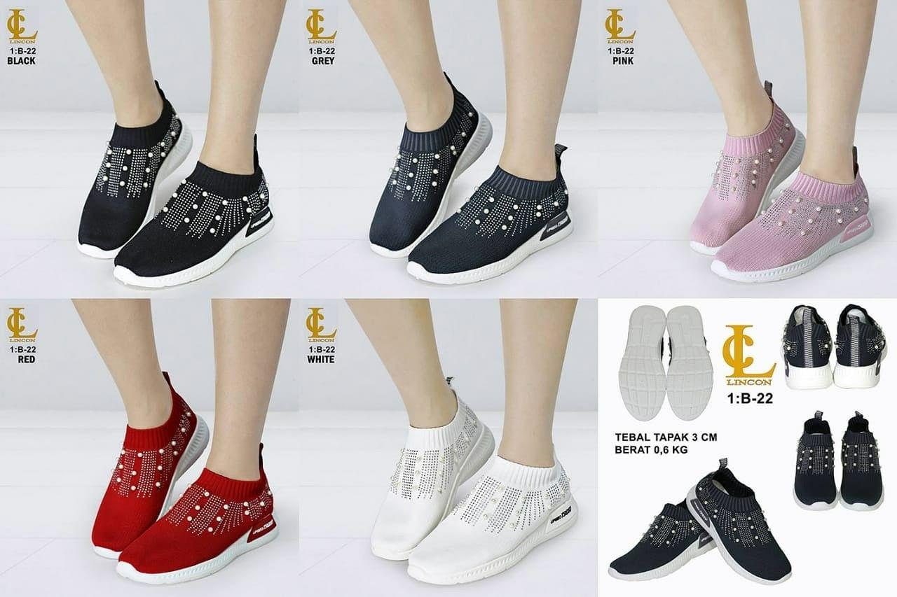 Sepatu Merek Lincon Mutiara Seri B 22 Kualitas Original Brand