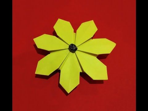 Origami Flower Very Easy To Do Ideas For Gift Decor Christmas