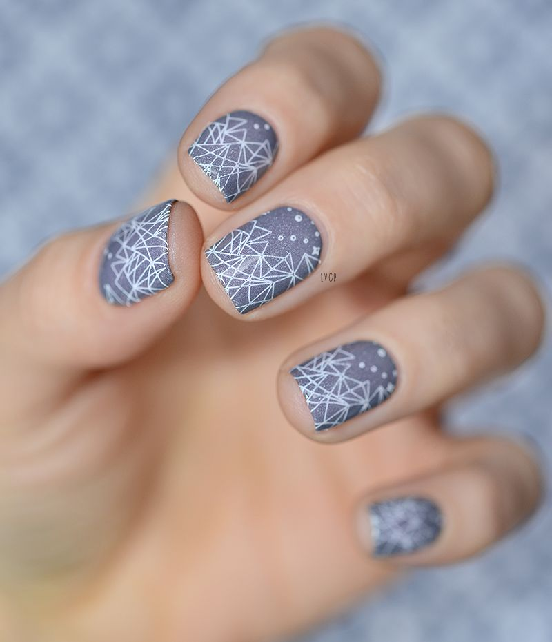 Nail Art Stamping Moyou London Enchanted 16 Nails ネイル