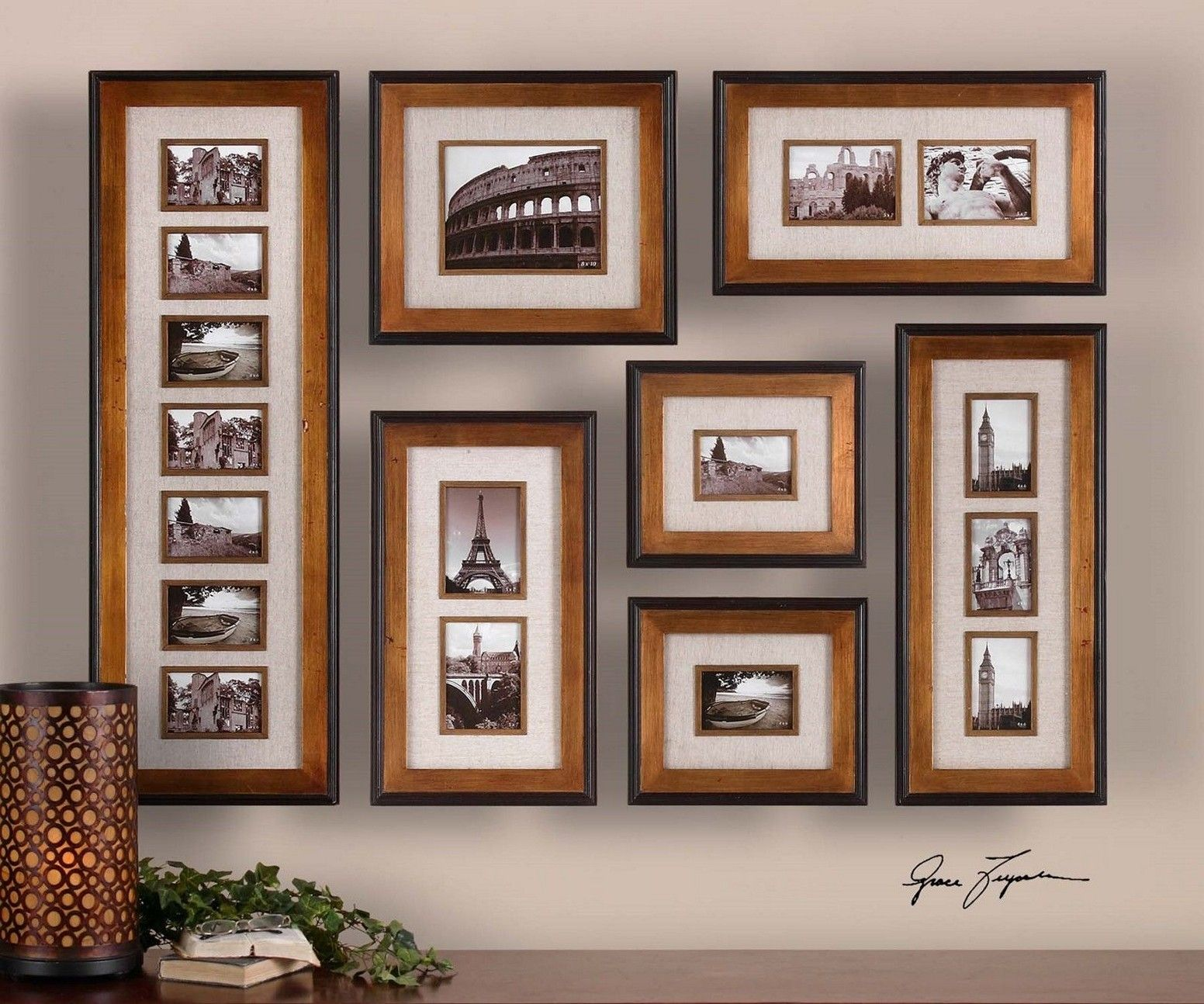 Cool Wall Photo Collage Ideas