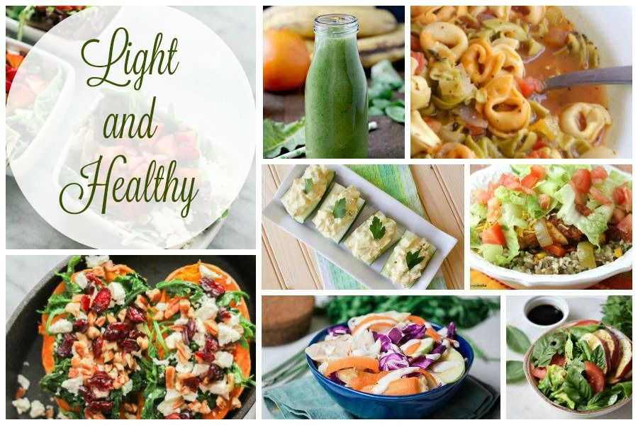 Light and Healthy Recipes and Delicious Dishes Recipe Party