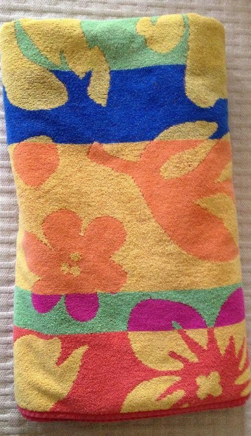 Cecil Saydah Beach Towels.Cecil Saydah Company Beach Towel La 100 Cotton Thick Multi Color