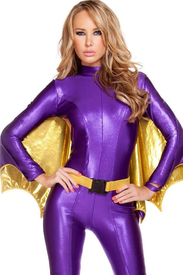 bat warrior costume at