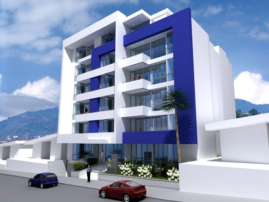 Fachadas casas modernas de dos plantas en for Arquitectura departamentos modernos