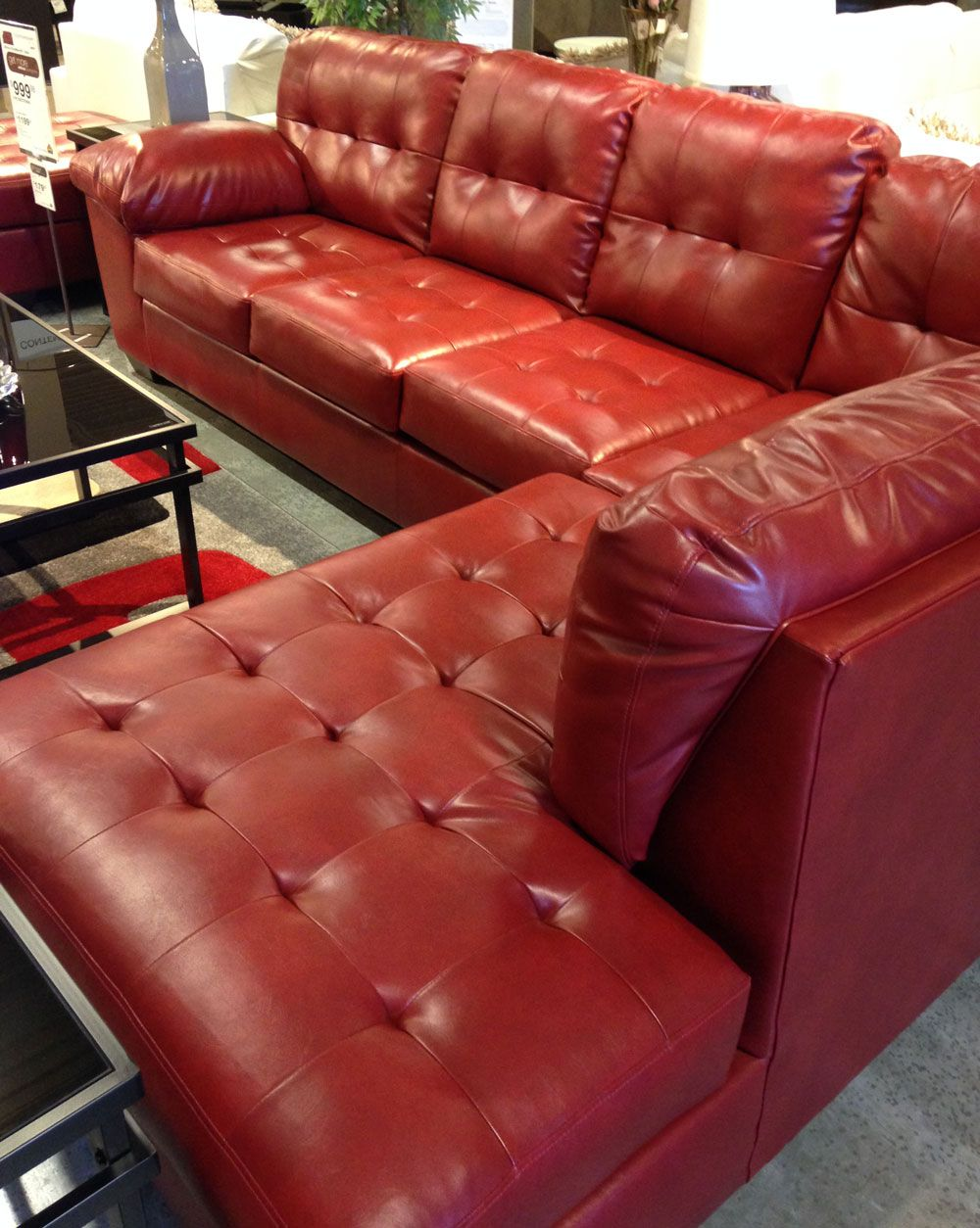 Best Alliston Durablend® 2 Piece Sectional With The Supportive 400 x 300