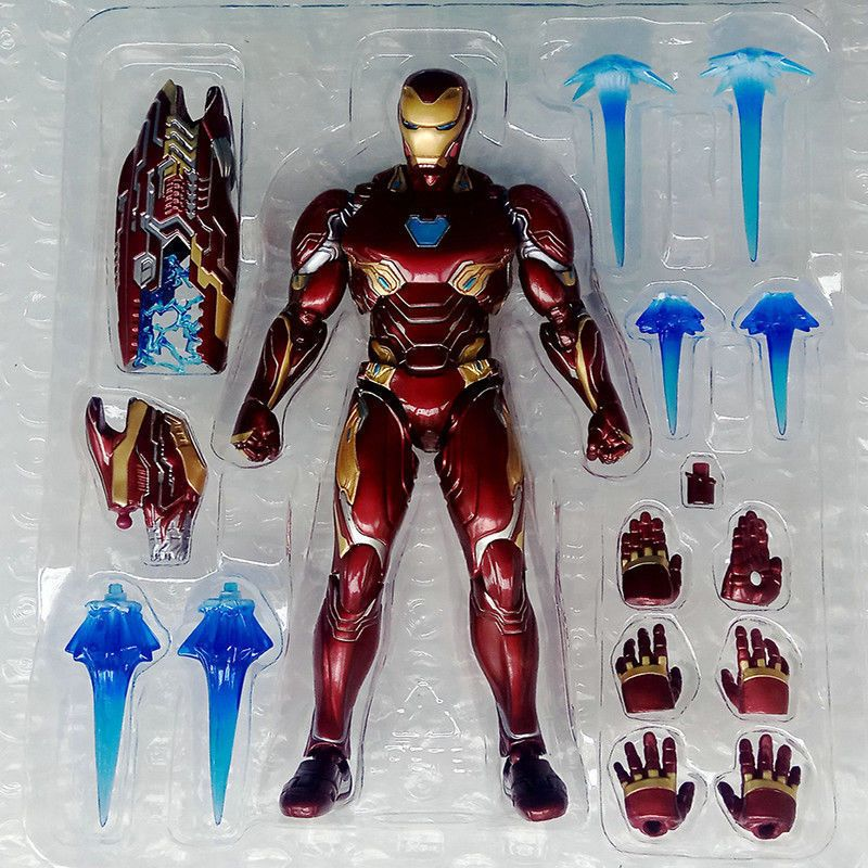 Marvel Studidos Avengers Infinity War MK50 Weapon Accessories Boxed for SHF Toy