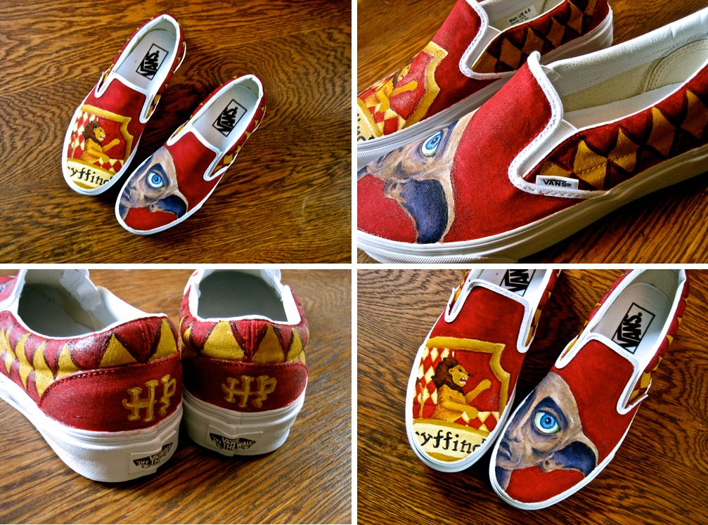 gryffindor Dobby shoes | Harry potter
