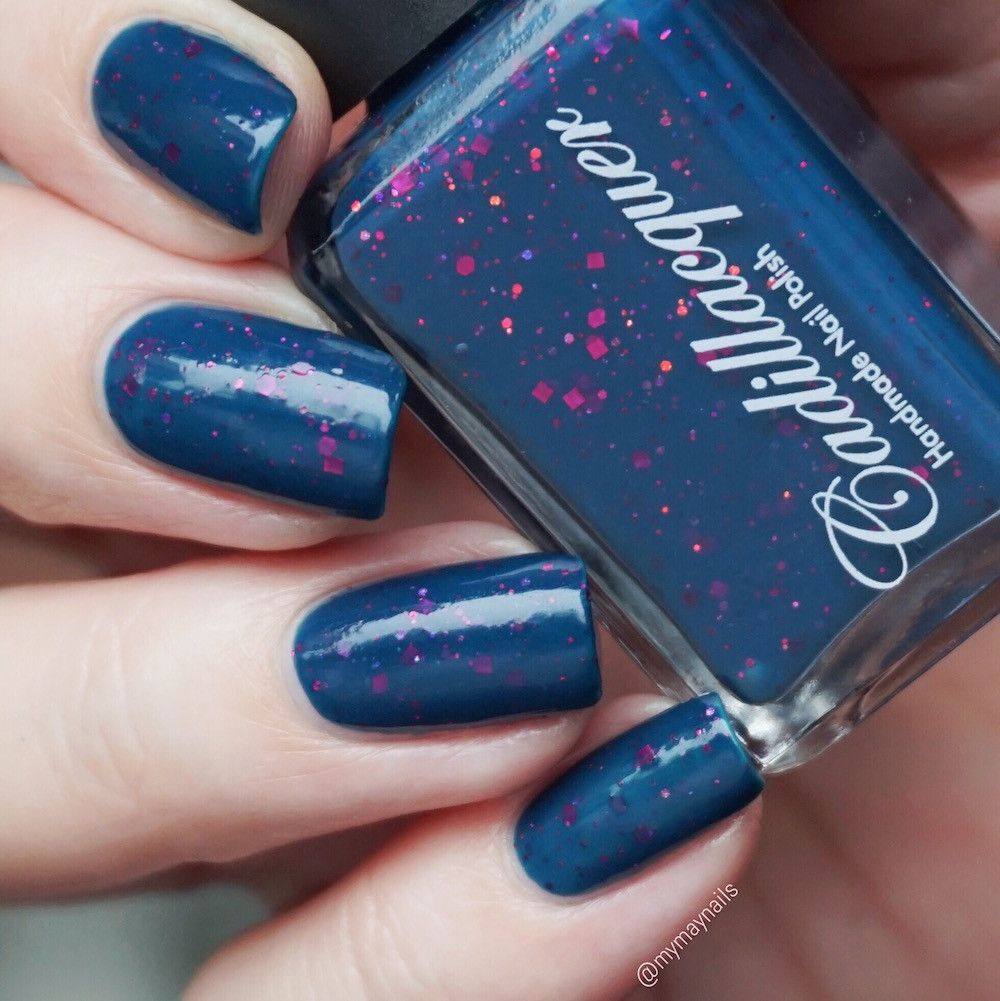 Frozen Heart, Cadillacquer | Indie Polish Wish List | Pinterest | Swatch