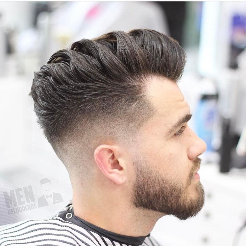 Skin Fade Haircuts Wavy Hair Men Fade Haircut Very Short Bob Hairstyles