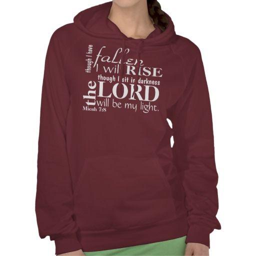 Rise Up bible verse Hoodie     Sweatshirts