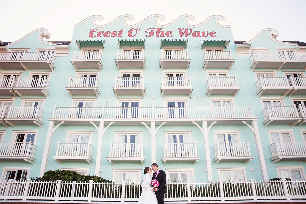 Boardwalk Inn Wedding Root Weddings Crestofthewave