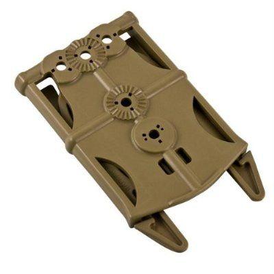 Molle Adapter D-Ring schwarz