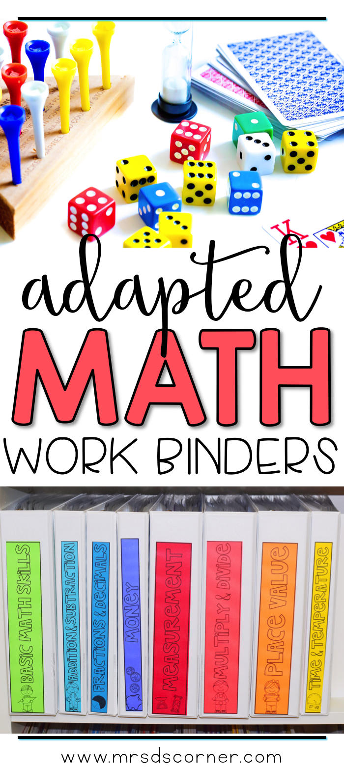 Math Adapted Work Binder BUNDLE - Standards Aligned (for Special ...