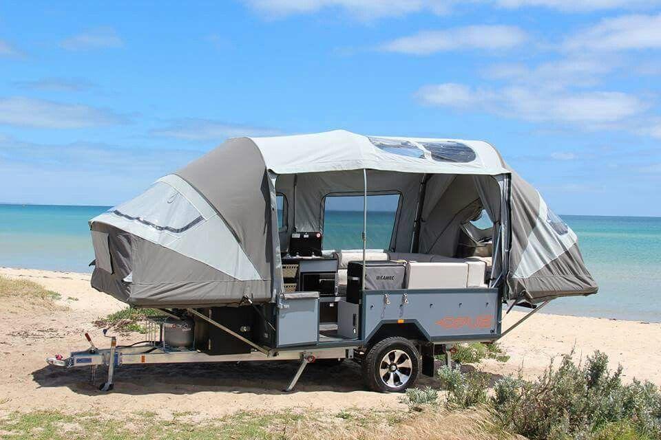 Opus Light Weight Compact Camper Trailer Safari