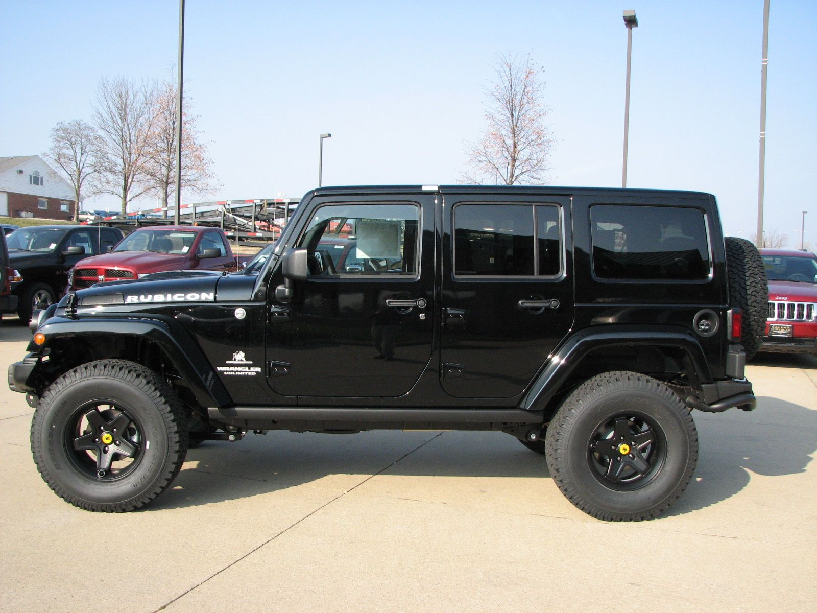 2013 jeep wrangler unlimited rubicon black aev jk250 black pintler wheels american expedition vehicles