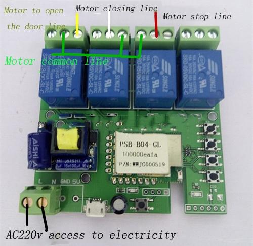 36.92$  Watch here - http://ali3ot.shopchina.info/1/go.php?t=32763021408 - 4-road, 220V jog / self-locking / interlock remote control timer wifi remote intelligent switch  #aliexpresschina
