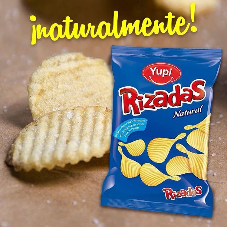#Rizadas #AlNatural ¡saladitas y crocantes! ;)