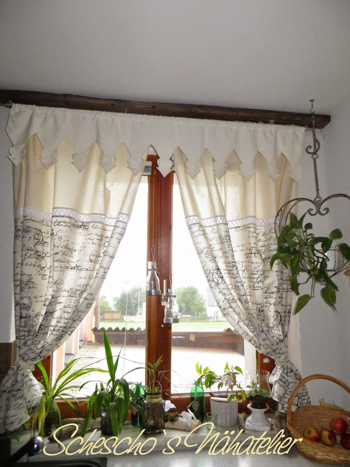 Schescho S Nähatelier Country Style Curtains Curtains Curtains Bedroom