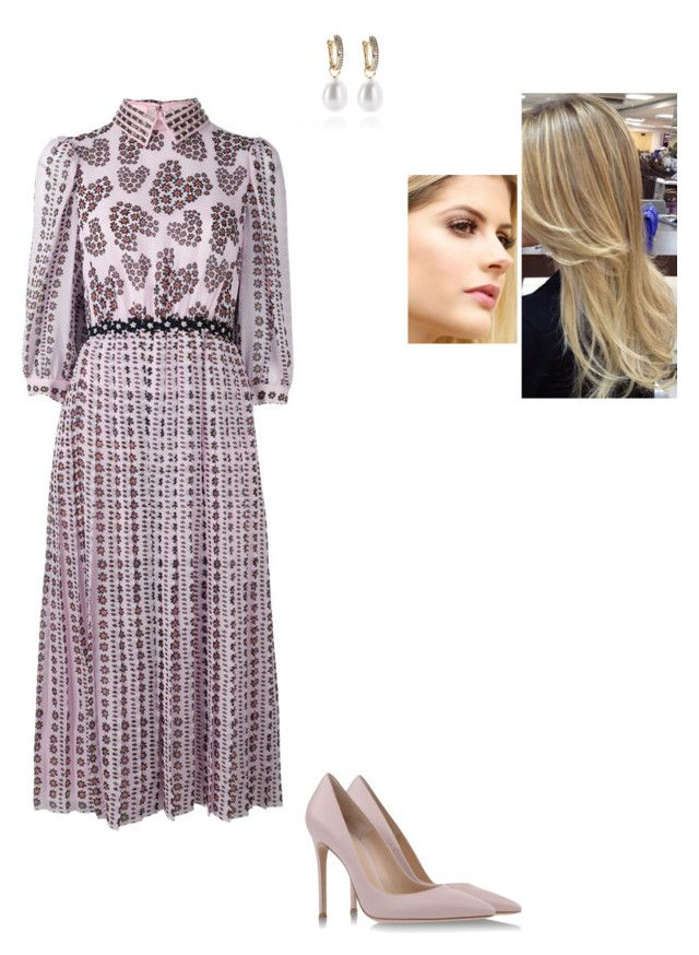 """""""Untitled #8558"""" by gracebeckett on Polyvore featuring MaxMara, Giamba and Gianvito Rossi"""