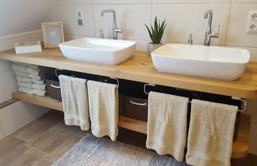 Waschtischplatten aus Holz – deutschlandweit verfügbar