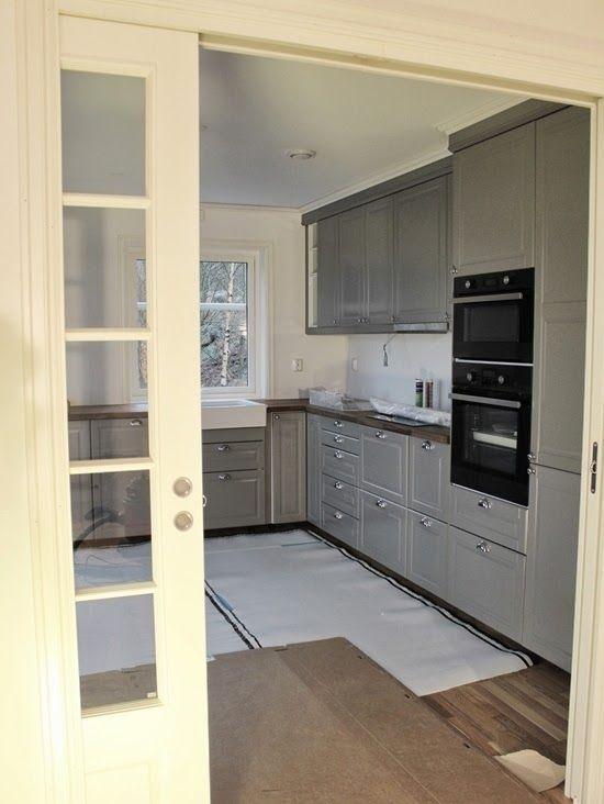 bittelillevilla: Kjøkkenet snart ferdig