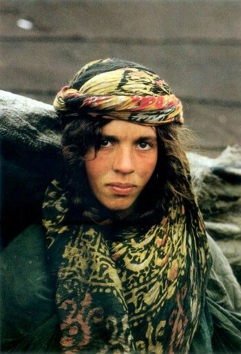 A Kurdish woman from Eastern Kurdistan