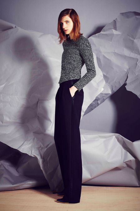Bouchra Jarrar | Fall 2014 Ready-to-Wear Collection | Style.com #Minimalist #Minimalism #Fashion