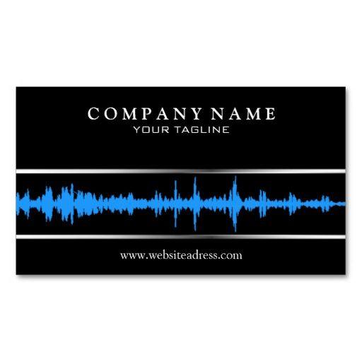 Djmusic Business Card Template Dj Business Cards Pinterest