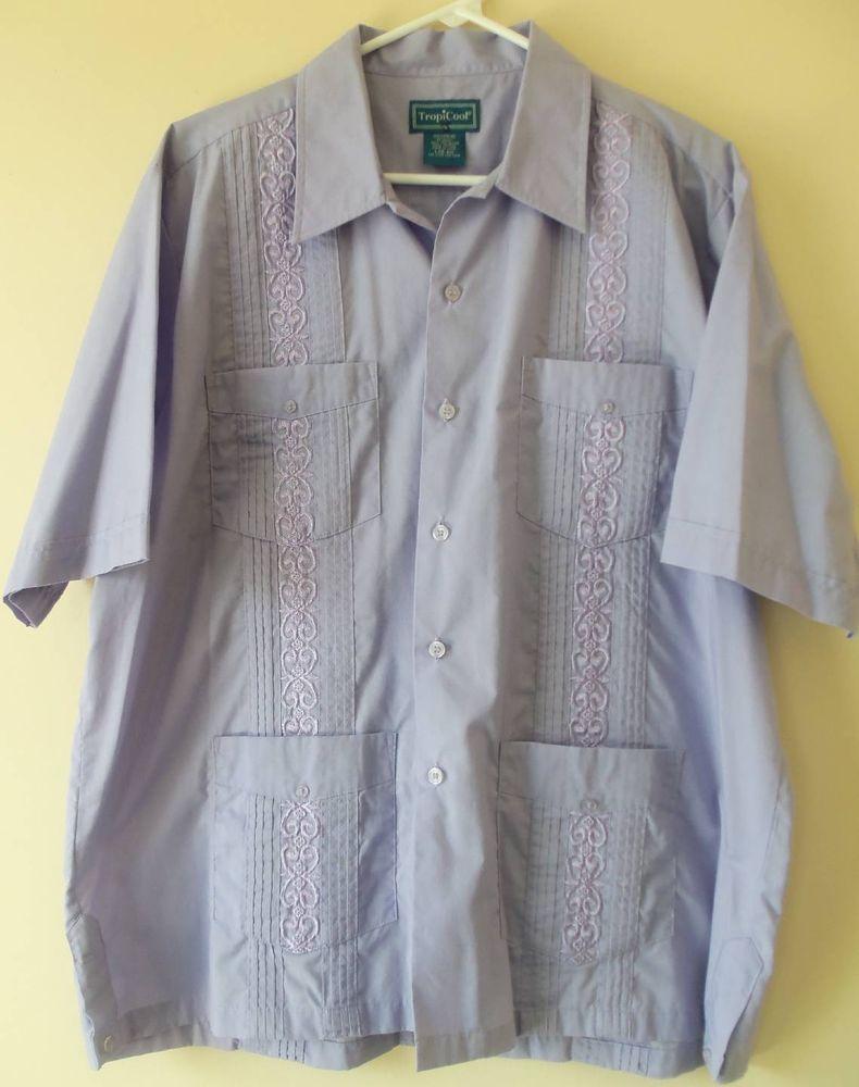 Wedding dress shirts for men  Vintage Tropicool Guayabera Viva Las Vegas Mexican Wedding Poker
