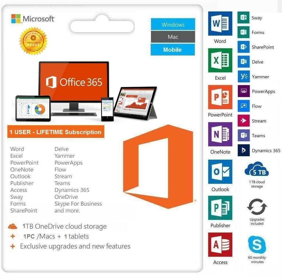 Microsoft Office 365 Pro Plus For Mac & Download Link