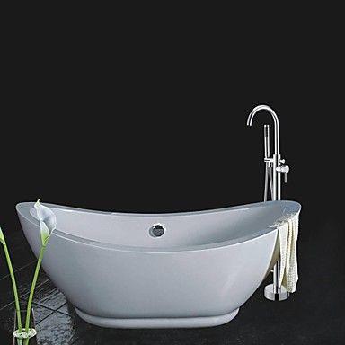 Douchette inclue position sur plancher robinet de douche - Douchette adaptable sur robinet ...