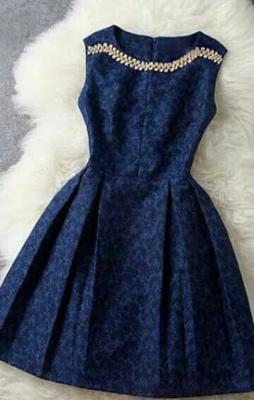 Navy Color Dress. This is Gorgeous!|