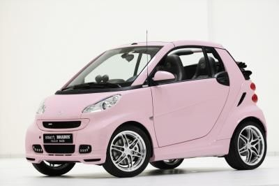 Smart Smartcar Smartcars Fortwo Pink Pinkcar Openyourmind