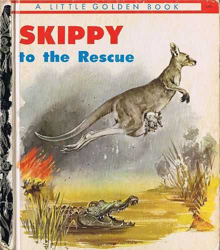 SKIPPY TO THE RESCUE, Little Golden Book, Four colour back - http://www.tutorfrog.com/skippy-to-the-rescue-little-golden-book-four-colour-back/  #Toys #cooltoys