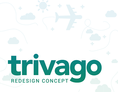 """Check out new work on my Behance portfolio """"Trivago"""