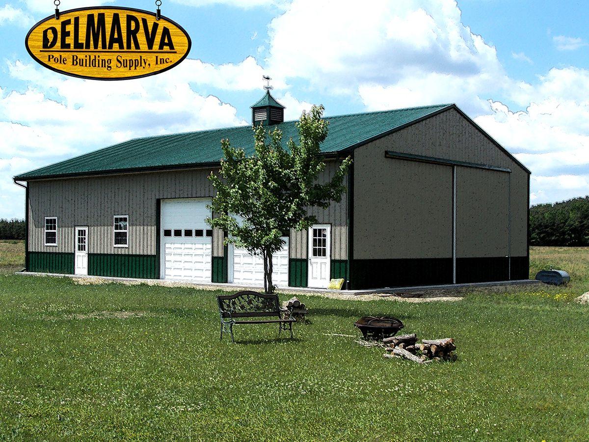 40x60x14 agricultural pole buildings pinterest pole for Pole barn workshop