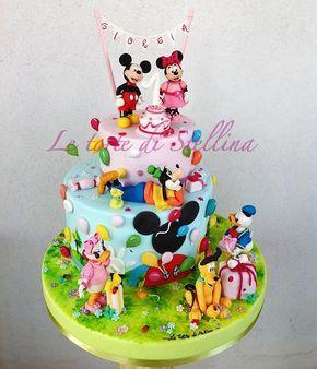 Torte topolino e la casa di topolino creare torte di for Decorare la stanza di minnie e topolino