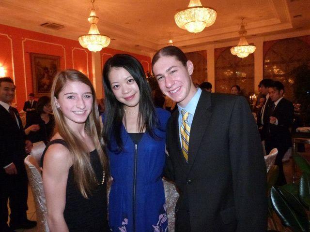 Hannah Miller(USA) ,Akiko Suzuki(JAPAN) and Jason Brown(USA) : ISU Grand Prix of Figure Skating Final 2012 Banquet