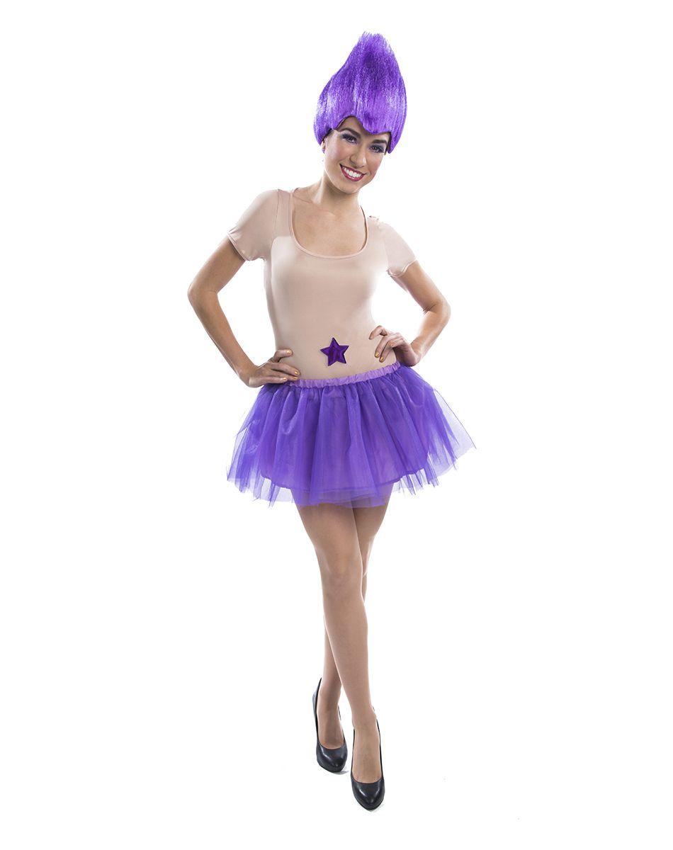 Purple Troll Womens Adult Costume – Spirit Halloween | Crazy ...