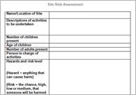 XTrans Early Years Setting Risk Assessment Template  Forest