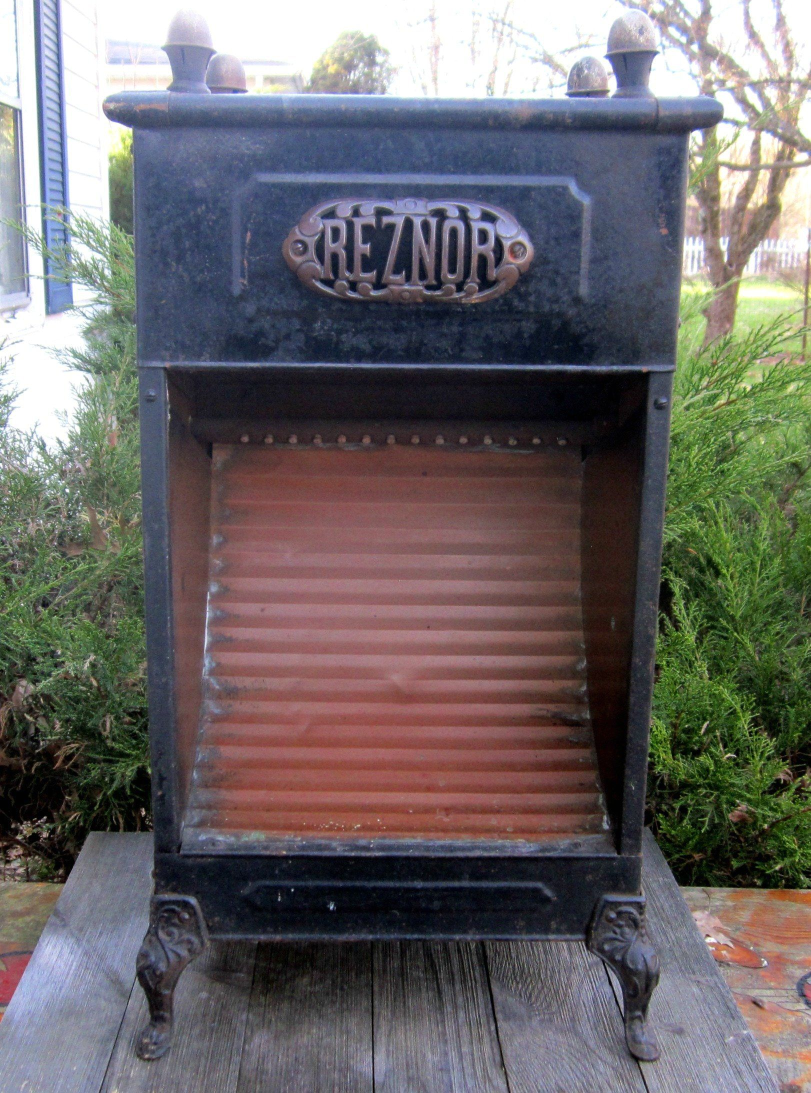 Vintage Reznor Gas Heater Stove Home Decor Man Cave Decor Metal