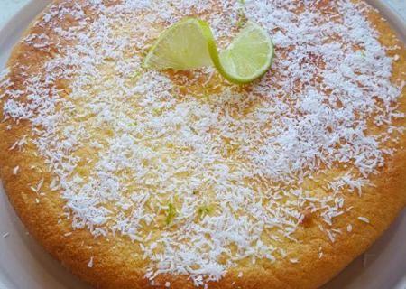 Gâteau extra moelleux au citron vert et à la noix de coco ...