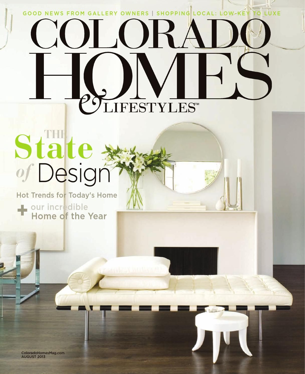 Colorado Homes & Lifestyles August 2013